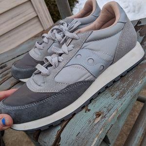 Men's Saucony Jazz Sneakers Leather Size 7M NWOT